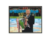 Alex Ferguson Autograph Signed Photo